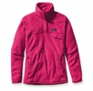 Patagonia Womens Re-Tool Snap-T Pullover Radiant Magenta: Radiant Magenta X-Dye (Autumn 2014)