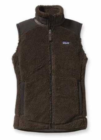 Patagonia Womens Retro-X Fleece Vest Dark Walnut