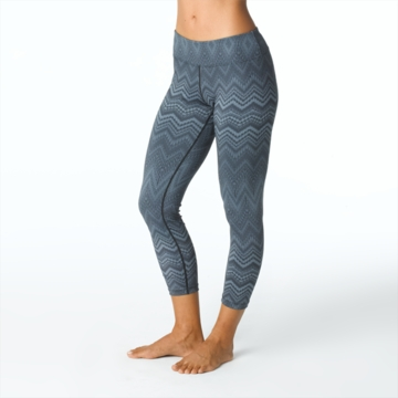 Prana Womens Roxanne Printed Legging Coal