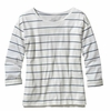 Patagonia Womens Shallow Seas Top Congo Stripe: White (Spring 2014)