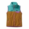 Patagonia Womens Snap-T Fleece Vest Howling Turquoise