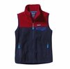 Patagonia Womens Snap-T Vest Navy Blue