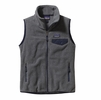 Patagonia Womens Snap-T Vest Nickel/ Navy Blue Small