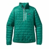 Patagonia Womens Special Edition Nano Puff Pullover Emerald