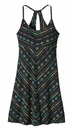 Patagonia Womens Spright Dress Blazing Stripe: Black (Spring 2014)