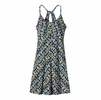 Patagonia Womens Spright Dress Square Dance: Skipper Blue XS