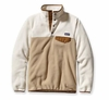Patagonia Womens Synchilla Lightweight Snap-T Fleece Pullover El Cap Khaki