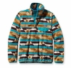 Patagonia Womens Synchilla Lightweight Snap-T Fleece Pullover Guatemalan Tango: Bear Brown (Autumn 2014)