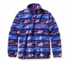 Patagonia Womens Synchilla Lightweight Snap-T Fleece Pullover Guatemalan Tango: Violetti