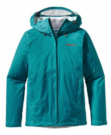 Patagonia Womens Torrentshell Jacket Tobago Blue