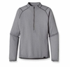 Patgaonia Mens Capilene 2 Lightweight Zip Neck Nickel: Tailored Grey X-Dye