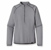 Patagonia  Mens Capilene 2 Lightweight Zip Neck Nickel: Tailored Grey X-Dye