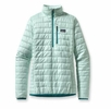 Patgaonia Womens Nano Puff Pullover Arctic Mint