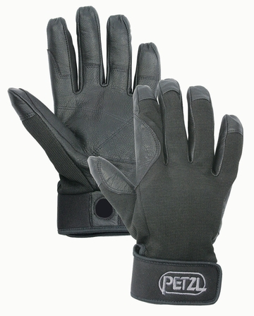 Petzl Cordex Climbing Gloves Black