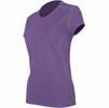 Polarmax Womens Insect Shield Short Sleeve Purple