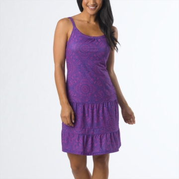 Prana Lexi Dress Sail Blue Mayan