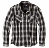 Prana Mens Asylum Flannel Coal