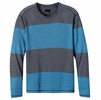 Prana Mens Keller Long Sleeve Crewe Nautical