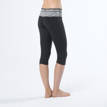 Prana Womens Alyson Knicker Black (Spring 2014)