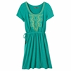 Prana Womens Bess Dress Dynasty Green
