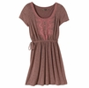 Prana Womens Bess Dress Raisin