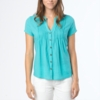 Prana Womens Ellie Top Lagoon