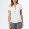 Prana Womens Ellie Top White