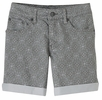 Prana Womens Kara Short Silver Spain Size 4