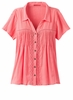 Prana Womens Katya Top Summer Peach