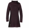 Prana Womens Kelland Dress Black Plum
