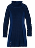 Prana Womens Kelland Dress Dark Cobalt