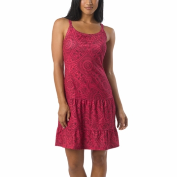 Prana Womens Lexi Dress Fuchsia Mayan