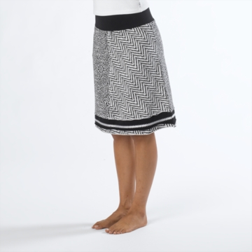 Prana Womens Lisette Skirt Black/ White