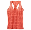 Prana Womens Luca Tank Neon Orange
