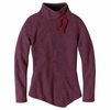 Prana Womens Mattea Sweater Plum Red