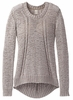 Prana Womens Monique Sweater Cobblestone