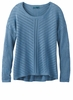 Prana Womens Parker Sweater Dusty Skies