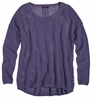 Prana Womens Parker Sweater Purple Fog