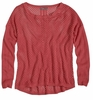 Prana Womens Parker Sweater Red Slate