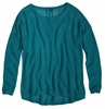 Prana Womens Parker Sweater Tidal Teal