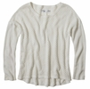Prana Womens Parker Sweater White