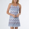 Prana Womens Quinn Dress 'Short' Length Sail Blue Tempo