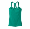 Prana Womens Quinn Lightweight Chakara Top Cool Green
