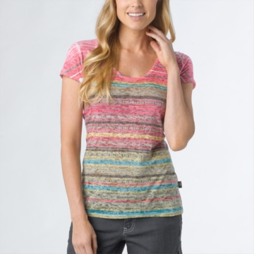 Prana Womens Ribbon Tee Spinach