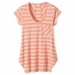 Prana Womens Skylar Top Glowing Coral