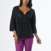 Prana Womens Sofie Top Black (Spring 2014)