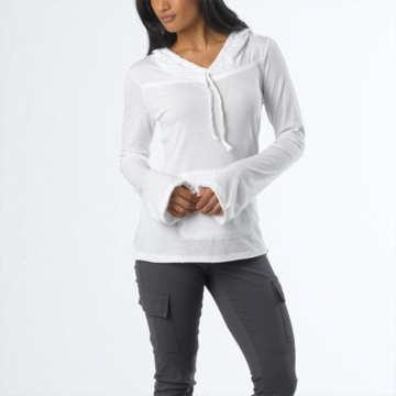 Prana Womens Tanya Top White (Spring 2014)