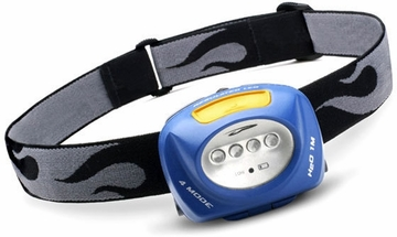 Princeton Tec Quad Headlamp Blue