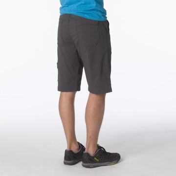 Prana Mens Stretch Zion Short Charcoal