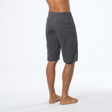 Prana Mens Stretch Zion Short Charcoal (Spring 2014)